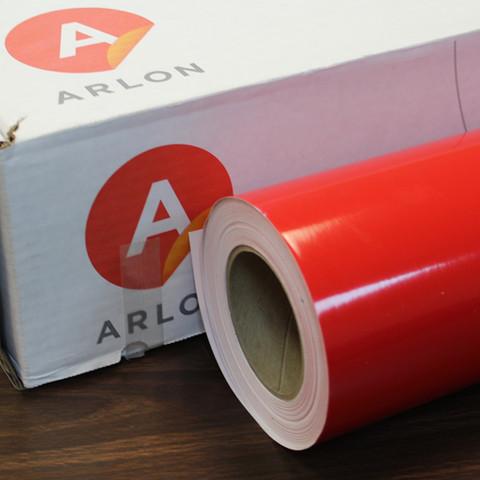 Red Arlon Sign Vinyl