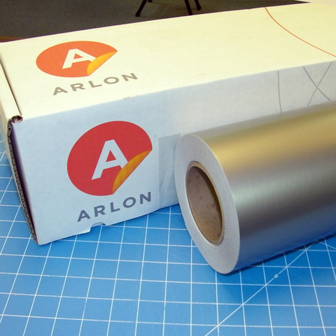 Arlon Silver Sign Vinyl
