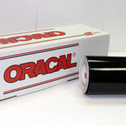 "Black Oracal 751 Sign Vinyl 24"" x 30'"