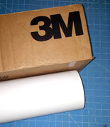 "White 24"" Roll of 3M ScotchCal Series 50 Sign Vinyl"