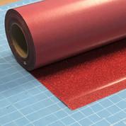 """Red Siser Glitter 20"""" Roll (Click for Lengths)"""
