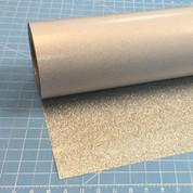 """Silver Siser Glitter 20"""" Roll (Click for Lengths)"""