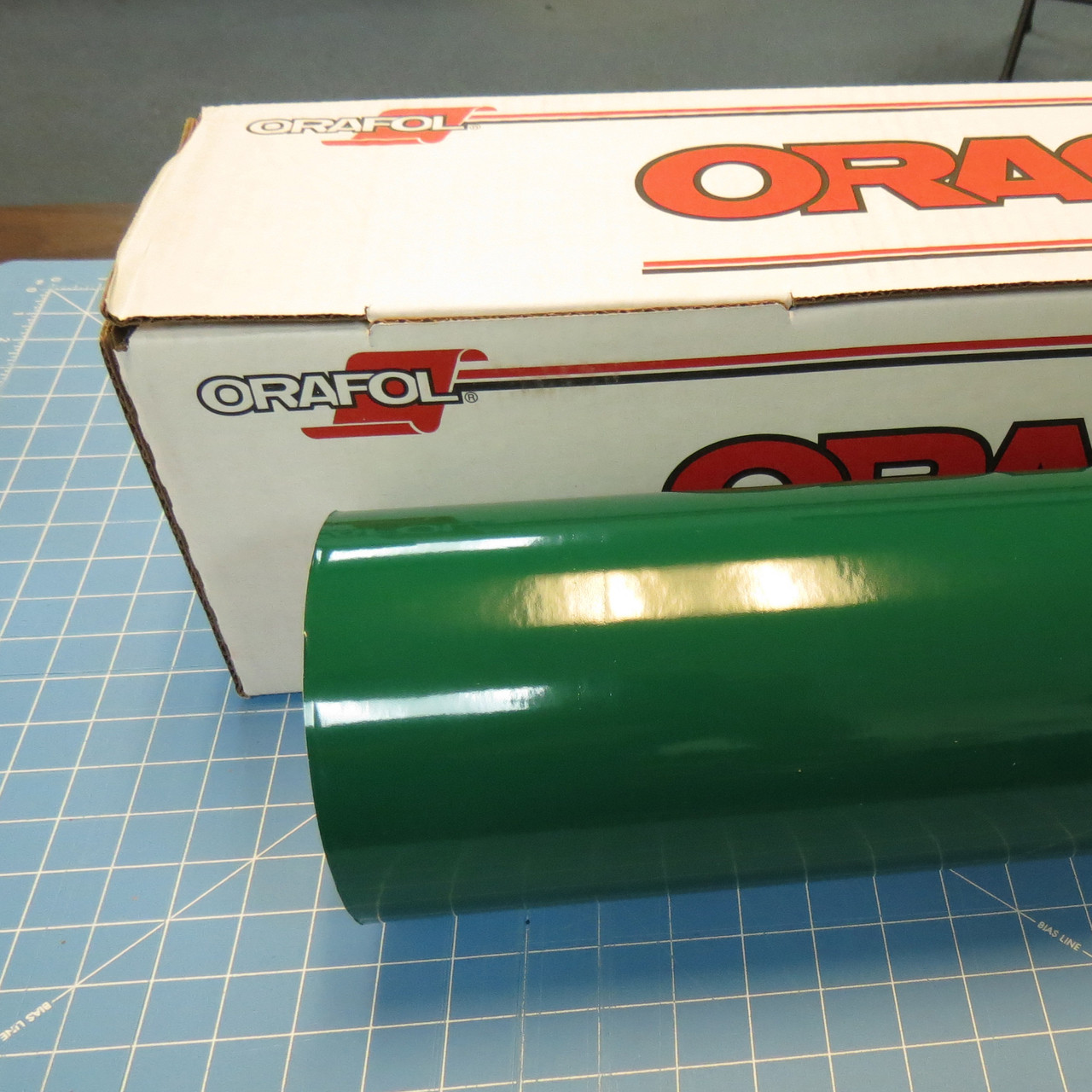 "Forest Green Oracal 651 1 Roll 24/"" X 10/' Sign Cutting Vinyl"