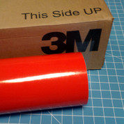 "Red Light 24"" Roll of 3M ScotchCal Series 50 Sign Vinyl"