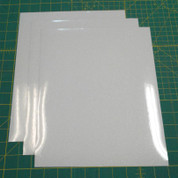 "White Siser Glitter Three (3) 10"" x 12"" Sheets"