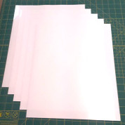 "White Siser Stretch Five (5) 15"" x 12"" Sheets"