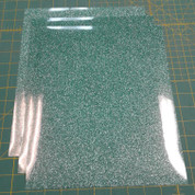 "Jade Siser Glitter Three (3) 10"" x 12"" Sheets"