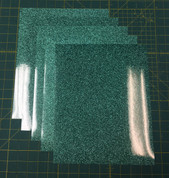 "Jade Siser Glitter Five (5) 10"" x 12"" Sheets"