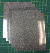"Light Multi Siser Glitter Five (5) 10"" x 12"" Sheets"