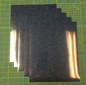 "Navy Siser Glitter Five (5) 10"" x 12"" Sheets"