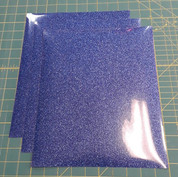 "Blue Glitterflex Three (3) 10"" x 12"" Sheets"