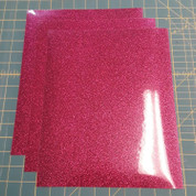 "Cherry Glitterflex Three (3) 10"" x 12"" Sheets"