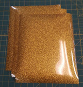 "Gold Glitterflex Three (3) 10"" x 12"" Sheets"