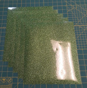 "Light Green Glitterflex Five (5) 10"" x 12"" Sheets"