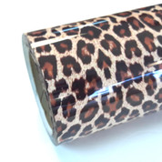 """Leopard Thermoflex Fashion Patterns 12"""" Roll (Click for Lengths)"""