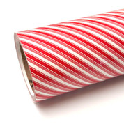 """Candy Cane Thermoflex Fashion Patterns 12"""" Roll (Click for Lengths)"""
