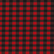 """Buffalo Plaid Red Thermoflex Fashion Patterns 12"""" x 12"""" Sheets (Click for Quantities)"""