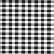 "Buffalo Plaid White Thermoflex Fashion Patterns 12"" x 12"" Sheets (Click for Quantities)"