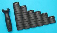 Knight's RIS Cover Set (Black) (Special Offer) GP571