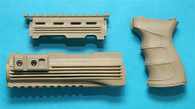 AK47 Handguard with Grip (Sand) GP468CS