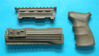 AK47 Handguard with Grip (OD) GP468BS