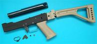 AK Metal Body Set (FM Style)(Folding Stock)(Sand) GP651S