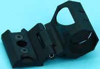 Keymod Adjustable Flashlight Mount (Black) GP-KEY016BK