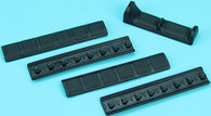 Keymod Handguard Finger Stop Set B (Black) GP-KEY015BB