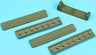 Keymod Handguard Finger Stop Set A (Sand) GP-KEY015AS