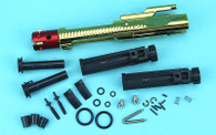 GBB Roller Bolt Carrier Set A (Negative Pressure) (Gold Chromic Coating) WP206A