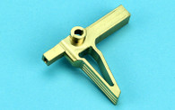 GBB Stainless Steel Flat Trigger (Gold) WP202GD