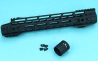 12.5″ Upper Cut M-Lok (Black) GP-MLK002B