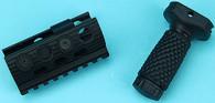 Shotgun ForeArm Set (Medium Short) (Black) GP-SHP019BK
