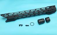 M.T.F.C. System 16.2″ Shark M-Lok (Black) GP-MLK016BK
