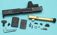 EMG SAI TIER ONE Upgrade Slide Set with RMR Sight (RMR Cut) for UMAREX GLOCK 17 GBBP ( UMAREX G17 )