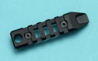 G&P M-Lok / Keymod 85mm Rail Type A - Black