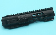 G&P CQB Railed Handguard with SAI QD System (Black)