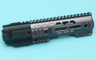 G&P CQB Railed Handguard with SAI QD System (Gray)