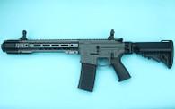 G&P EMG SAI GRY Gen. 1 Billet Style Receiver AEG Training Rifle w/ JailBrake Muzzle and Folding Stock (Model: i5 Gearbox / SBR / Grey)