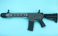 G&P EMG SAI GRY Gen. 2 Forge Style Receiver AEG Training Rifle w/ JailBrake Muzzle (Model: i5 Gearbox / SBR / Gray)
