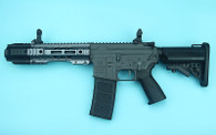 G&P EMG SAI GRY Gen. 2 Forge Style Receiver AEG Training Rifle w/ JailBrake Muzzle (Model: i5 Gearbox / CQB / Grey)