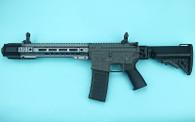 G&P EMG SAI GRY Gen. 2 Forge Style Receiver AEG Training Rifle w/ JailBrake Muzzle and Folding Stock (Model: i5 Gearbox / CQB / Black)