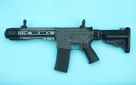 G&P EMG SAI GRY Gen. 2 Forge Style Receiver AEG Training Rifle w/ JailBrake Muzzle and Folding Stock (Model: i5 Gearbox / CQB / Grey)