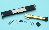 EMG SAI Utility Slide Kit (by G&P) - Gold Barrel for Umarex(VFC) G19 GBB Pistol
