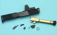 G&P SAI Utility Slide Kit with RMR Sight (Umarex Glock 19) (RMR Cut)
