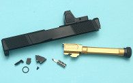 EMG SAI™ Utility Slide Kit w/ RMR Sight for TM Model 17 GBBP ( BK )