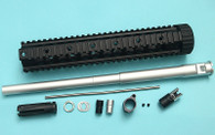 G&P 16″ Recce Rifle Kit for TM MWS / WA M4 Series ( Black / Silver )