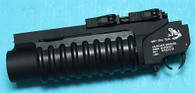 G&P Skull Frog Quick Lock QD M203 Grenade Launcher XS (Black)(GP-GRE012XS)