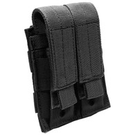 MOLLE Modular Nylon Double Mag Pouch (Black Color)