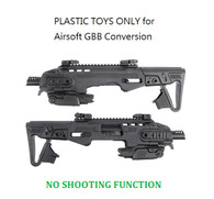 TOYS CAA Airsoft RONI Conversion Kit Black for GBB P-226 Series CAD-SK-03-BK